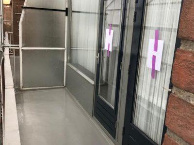 Appartementencomplex Kerkedijk te Rotterdam – Frame Woningen – Balkons