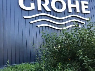 Bedrijfspand Grohe Nederland in opdracht van Topfinish Nederland