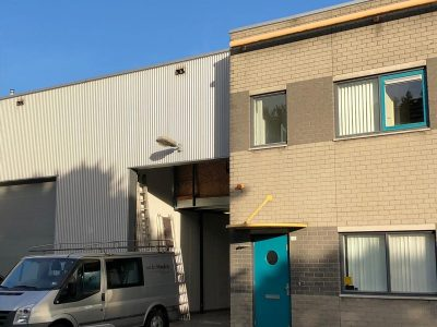 Restylen kantoor en bedrijfsruimte Vijfsluizen Schiedam